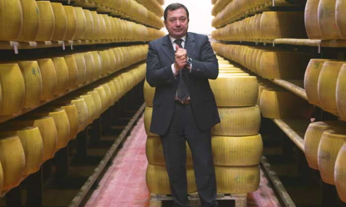 The bank of cheese